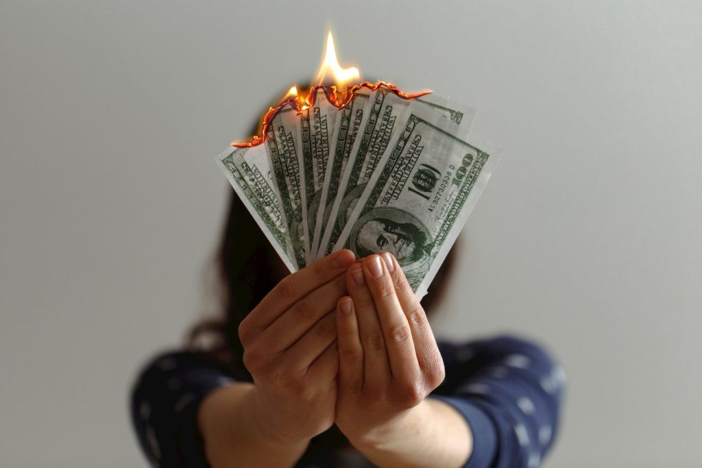 Don't burn money for no reason when you start your business